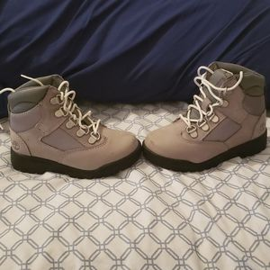 Timberland field boots for toddlers